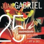 25 Aniversario 1971-1996 Edición, Volúmenes 16 a 20 by Juan Gabriel