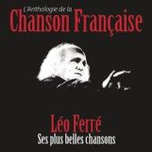 Anthologie de la chanson française de Leo Ferre