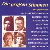 Die grossen Stimmen by Various Artists