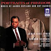 COPLAND, A.: Fanfare for the Common Man / Lincoln Portrait / Canticle of Freedom / HARRIS, R.: American Creed (Portraits of Freedom) (Schwarz) von Various Artists