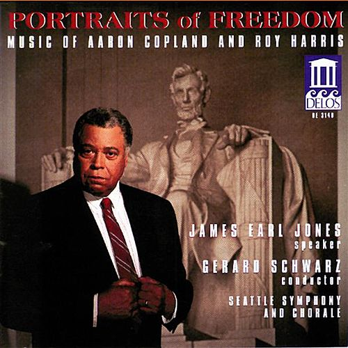 COPLAND, A.: Fanfare for the Common Man / Lincoln Portrait / Canticle of Freedom / HARRIS, R.: American Creed (Portraits of Freedom) (Schwarz) by Various Artists