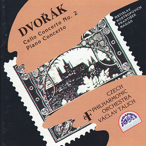 Dvorak: Cello Concerto No. 2, Piano Concerto by Various Artists