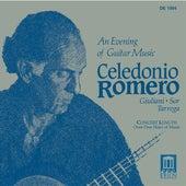 Guitar Recital: Romero, Celedonio - GIULIANI, M. / SOR, F. / TARREGA, F. (An Evening of Guitar Music) by Celedonio Romero