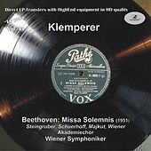 LP Pure, Vol. 33: Klemperer Conducts Beethoven – Missa Solemnis (Historical Recording) by Various Artists