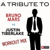 A Tribute to Bruno Mars vs. Justin Timberlake Workout Mix (60+ Min Non-Stop Workout Mix (128-135 BPM) by Various Artists
