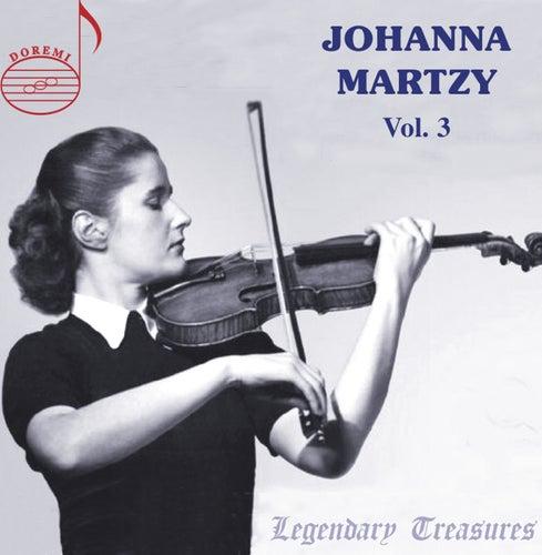 Johanna Martzy Live, Vol. 3 by Johanna Martzy