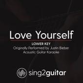 Love Yourself (Lower Key) [Originally Performed by Justin Bieber] [Acoustic Guitar Karaoke] de Sing2Guitar