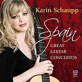 Spain: The Great Guitar Concertos de Karin Schaupp