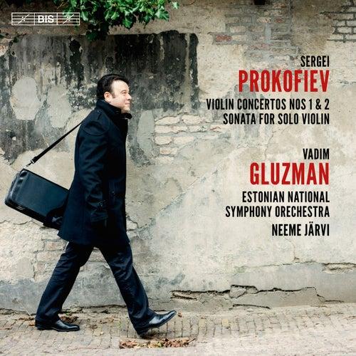 Prokofiev: Violin Concertos Nos. 1 & 2 & Sonata for Solo Violin by Vadim Gluzman