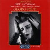 Orff: Antigonae (1951) de Various Artists