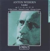 Webern: Lieder by Various Artists