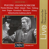Puccini: Gianni Schicchi, Bayerische Staatsoper 1973 von Dietrich Fischer-Dieskau