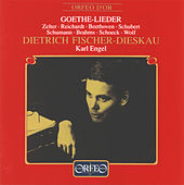 Goethe-Lieder: Dietrich Fischer-Dieskau & Karl Engel von Dietrich Fischer-Dieskau