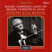 Mozart: Symphony No. 40 in G Minor, K. 550 - Brahms: Symphony No. 2 in D Major, Op. 73 von Symphonie-Orchester des Bayerischen Rundfunks