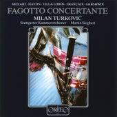 Fagotto concertante by Milan Turković
