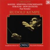 Haydn: Sinfonia concertante - Strauss: Don Quixote von Various Artists