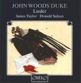 Duke: Lieder by James Taylor