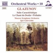 Suite Caracteristique/Chant du Destin de Alexander Glazunov