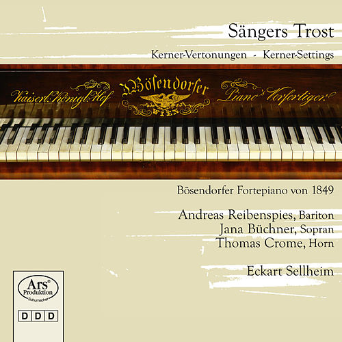 Sängers Trost: Kerner Settings by Andreas Reibenspies