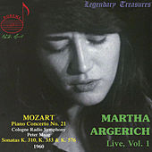 Martha Argerich Live, Vol. 1 by Martha Argerich