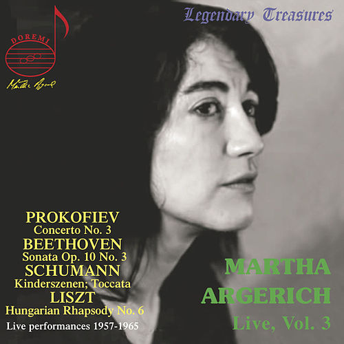 Martha Argerich Live, Vol. 3 by Martha Argerich