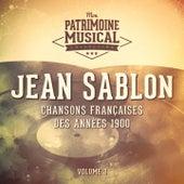Chansons françaises des années 1900 : Jean Sablon, Vol. 3 de Jean Sablon