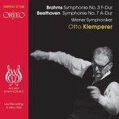 Brahms: Symphony No. 3 - Beethoven: Symphony No. 7 by Wiener Symphoniker