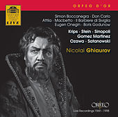 Ghiaurov: Opernszenen (1969-1998) by Various Artists