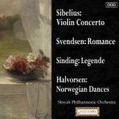 Sibelius: Violin Concerto - Svendsen: Romance - Sinding: Legende - Halvorsen: Norwegian Dances by Various Artists