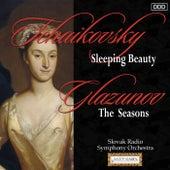 Tchaikovsky: Sleeping Beauty - Glazunov: The Seasons de Slovak Radio Symphony Orchestra and Ondrej Lenárd