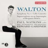 Walton: Improvisations on an Impromptu of Benjamin Britten, Cello Concerto & Symphony No. 2 by Various Artists