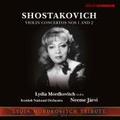 Shostakovich: Violin Concertos Nos. 1 & 2 by Lydia Mordkovitch