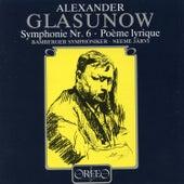Glazunov: Symphony No. 6 in C Minor, Op. 58 & Poème lyrique, Op. 12 de Bamberg Symphony Orchestra