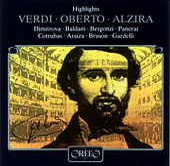 Verdi: Oberto & Alzira von Various Artists