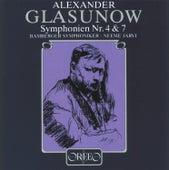 Glasunow: Symphonies Nos. 4 & 7 de Bamberg Symphony Orchestra