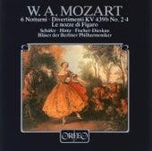 Mozart: 6 Notturni, Divertimenti, Le nozze di Figaro Arias for Wind Ensemble by Various Artists
