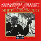 Schoenberg: Violin Concerto, Op. 36 - Prokofiev: Symphony No. 5 in B-Flat Major, Op. 100 by Various Artists