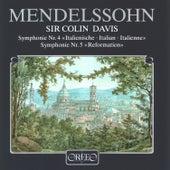 Mendelssohn: Symphonies Nos. 4 & 5 von Symphonie-Orchester des Bayerischen Rundfunks