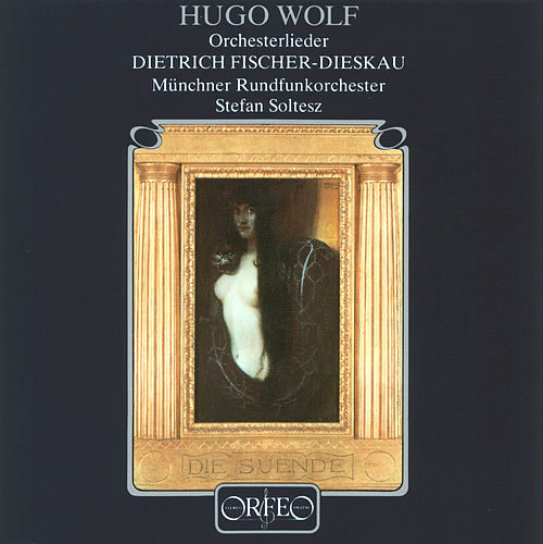 Wolf: Orchesterlieder by Dietrich Fischer-Dieskau