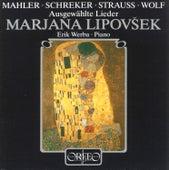 Mahle, Schreker, Strauss & Wolf: Lieder by Erik Werba