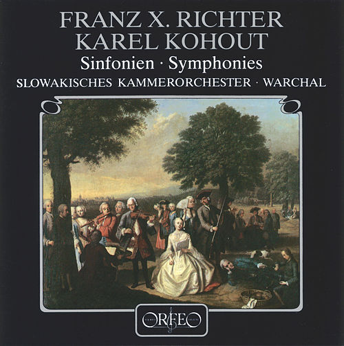 Richter & Kohout: Works for Orchestra by Slowakisches Kammerorchester