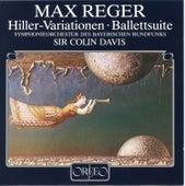 Reger: Variations & Fugue on a Theme of J.A. Hiller in E Major, Op. 100 & Eine Ballettsuite in D Major, Op. 130 by Symphonie-Orchester des Bayerischen Rundfunks