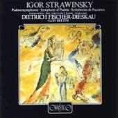 Stravinsky: Symphony of Psalms, 2 Poèmes de Paul Verlaine, Babel, Abraham and Isaac & Elegy for J.F.K. von Various Artists