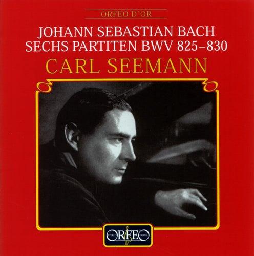 Bach: Keyboard Partitas Nos. 1-6 by Carl Seemann