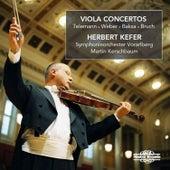 Telemann, Weber, Baksa & Bruch: Viola Concertos by Herbert Kefer