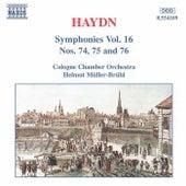 Symphonies Nos. 74 to 76 by Franz Joseph Haydn