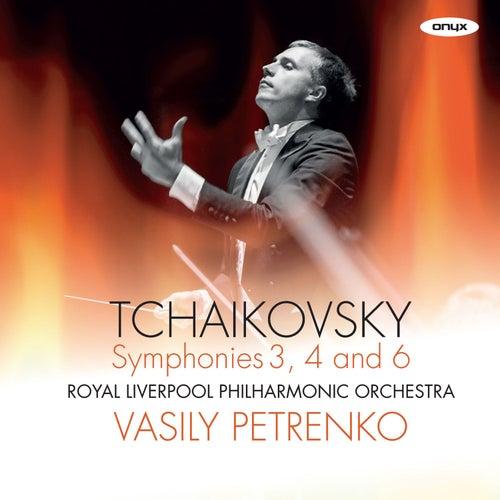 Tchaikovsky Symphony No.6 'Pathetique', Symphony No.4, Symphony No.3 'Polish' by Vasily Petrenko