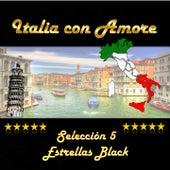Italia con amore, selección 5 estrellas black by Various Artists