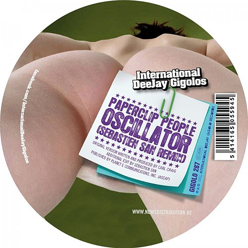 Oscillator (Sebastien San Remix) by Paperclip People