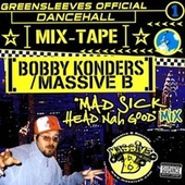 Greensleeves Official Dancehall Mixtape Vol. 1 - Bobby Konders / Massive B de Bobby Konders